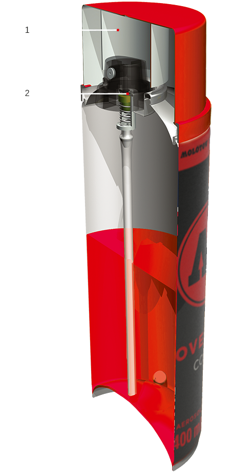 COVERSALL Action Spray Cans